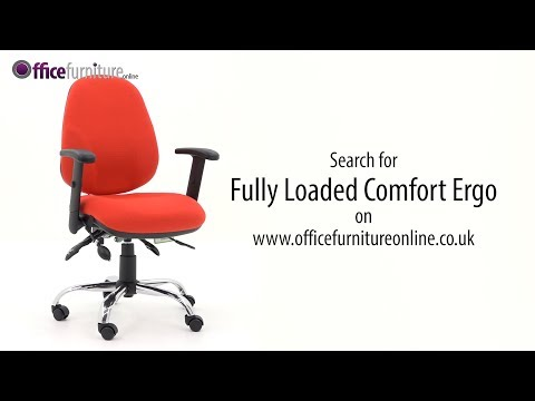 Comfort Ergo Fully Loaded Operator Chair - Features And User Guide