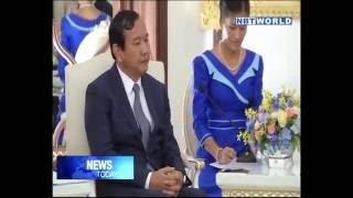 New Cambodian Foreign Minister visits PM Gen Prayut