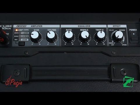 Roland Cube-10GX - demo, reamping test