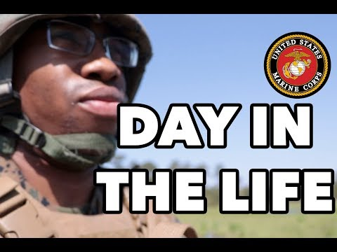 Day In The Life Of An Active Duty Marine POG