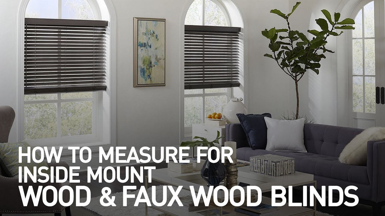 Faux Wood Blinds Easy Steps