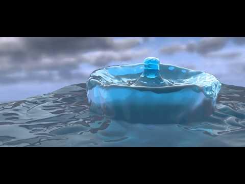 Liquid Drop Shape C4D 2014