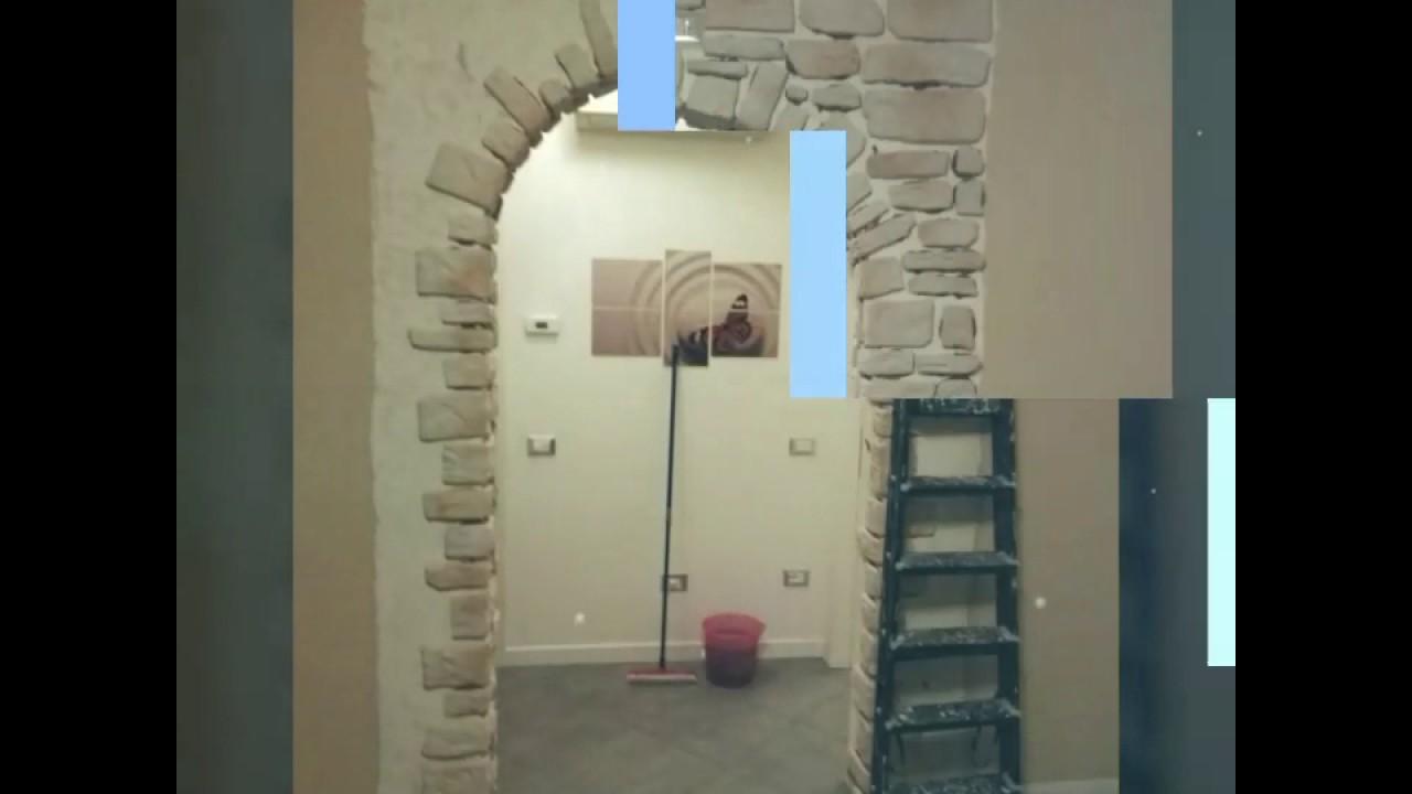 Arco rivestito in pietra ricostruita youtube - Archi interni rivestiti in pietra ...