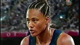Women's Long Jump Finals Round 6 - 2000 Sydney Olympics Track & Field