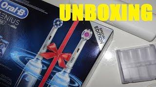 UNBOXING: Braun Oral-B Genius 8900 mit Lithium Ionen Akku