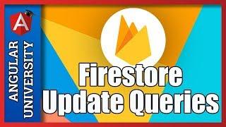 💥 Firestore Data Modification Example with AngularFire