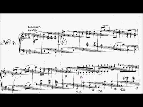 AMEB Piano Series 18 Grade 5 C3 Heller Waltz Op.97 No.7 Sheet Music