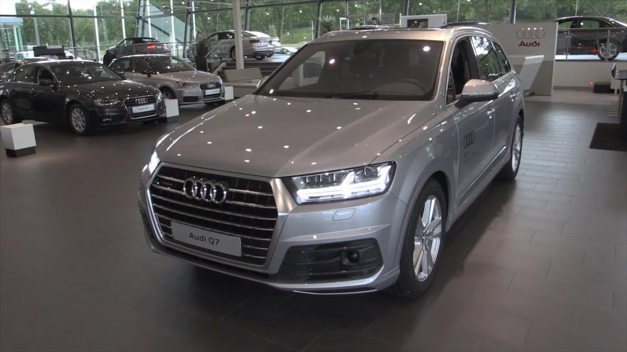 Audi 2016 audi q7 : 2016 Audi Q7 Quattro Tiptronic Full Review / Start Up / Exhaust ...