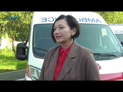 ТРК Аверс: Волинь отримала  10  автомобілів швидкої