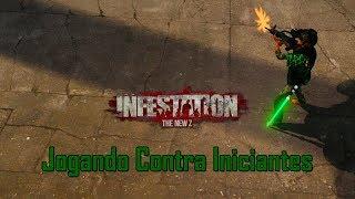 Infestation The New Z : Jogando  Contra Iniciantes No CALIWOOD .
