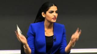 vuclip Princess Ameerah Al Taweel discusses social leadership with ESADE MBA students