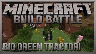 Minecraft Mini Game: Build Battle - Big Green Tractor!