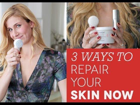 3 Ways to Repair Your Skin