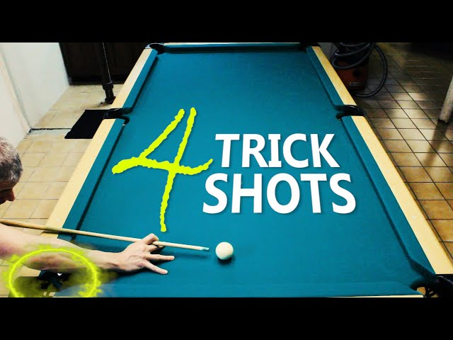4 Pool Trick Shots: Volume 20