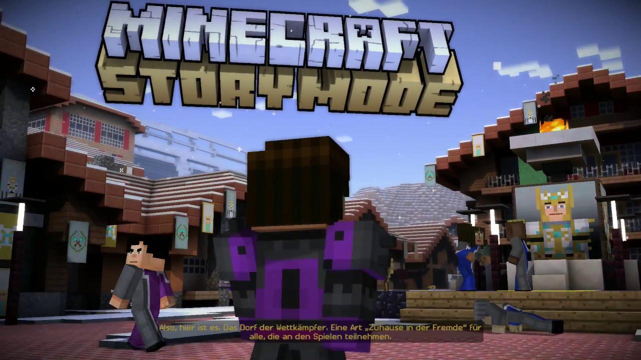 Minecraft Story Mode Episode Das Turnier Kampf Ums Überleben - Minecraft story mode deutsch spielen