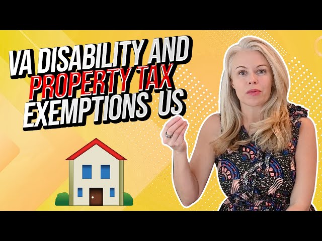 VA Disability and Property Tax Exemptions - Common Misconception For a Disabled Veteran In 2021 🇺🇸