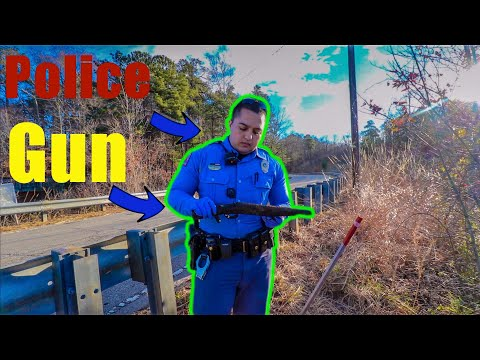 Found A Gun Magnet Fishing *Police Involved*