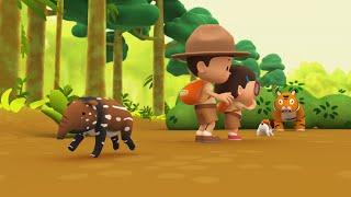 Leo the Wildlife Ranger Minisode #113 - Malayan Tapir