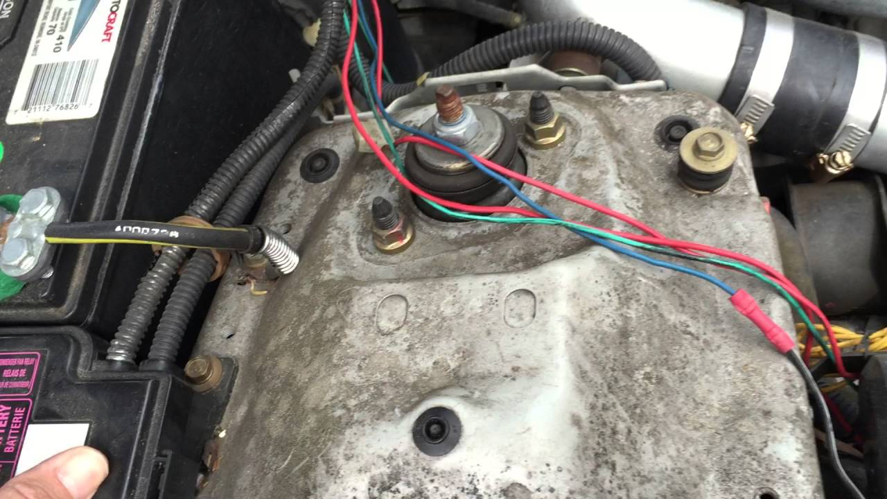 diagnose the radiator fan and relay on a honda civic youtube f150 solenoid wiring diagram free picture schematic #3