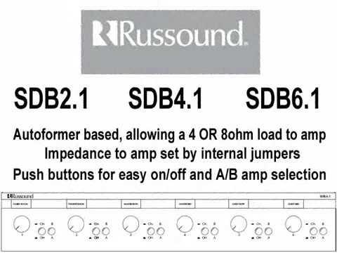 Russound Speaker Selectors - YouTube