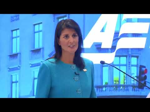 Nikki Haley slams Iran nuclear deal ahead of Trump review