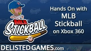 MLB Stickball - Xbox 360 (Delisted Games Hands On)