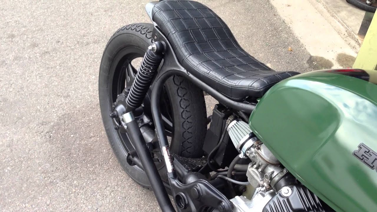 Honda bobber custom CX500 exhaust! by David Q