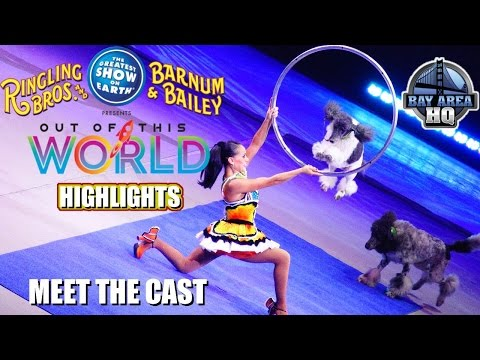 RINGLING BROS OUT OF THIS WORLD CIRCUS |  CAST INTERVIEW | BARNUM AND BAILEY | BROTHERS
