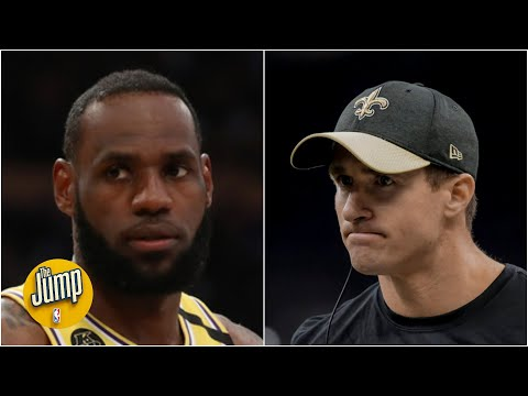 LeBron James Showed Incredible Class In Calling Out Drew Brees - Stephen A. Smith | The Jump