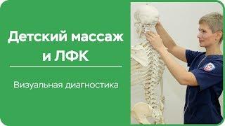 Детский массаж и ЛФК  Визуальная диагностика