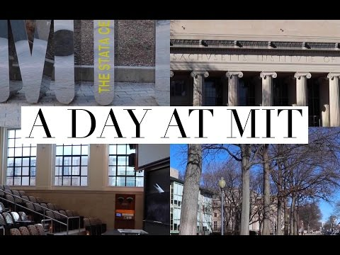 A DAY AT MIT
