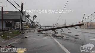 10-12-18 Hurricane Michael Stock Footage