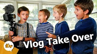 Our BOYS took OVER the VLOG!