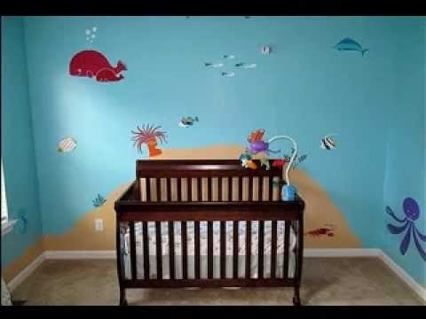 Under the sea bedroom decorations ideas YouTube