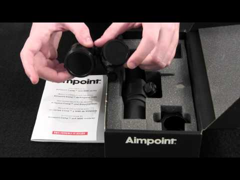Aimpoint 9000SC 2 MOA Scopes 11417 Hunting Shooting Unboxing