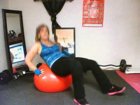 Chalean Extreme 10 min AB CORE BALL workout