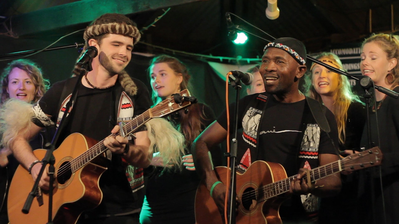 Qadasi & Maqhinga featuring Baobab Sisters  - Ngiyazenzela