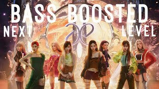 [BASS BOOSTED] aespa 에스파 'Next Level' (EARPHONES RECOMMENDED)