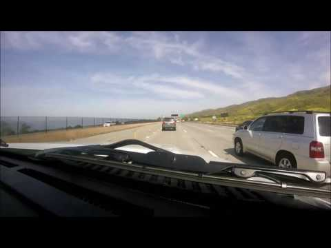 San Diego to Los Angeles (Long Beach) Timelapse Drive (2017) (HD)