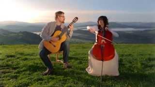 Dusan Bogdanovic : Quatre Pieces Intimes III&IV - CELLO GUITAR DUET - DUO VITARE - Music Video
