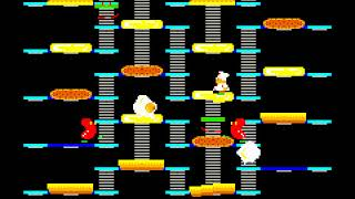 Arcade Longplay [866] Burger Time