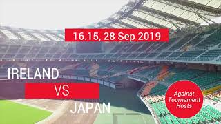 Unique Japan Tours - Rugby World Cup 2019 - Ireland TRAIL BY RAIL Competition