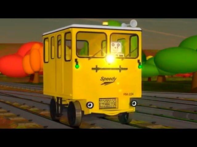 Развивающие Мультфильмы: Паровозик Шонни и Автобус Спиди
