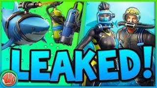MEGA UPDATE!! *LEAKED* SKINS, MAP CHANGES, RC TANK & MEER!! - Fortnite: Battle Royale