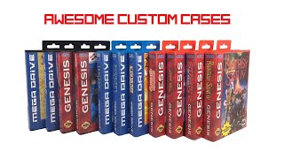 Awesome custom game cases for your retro games!