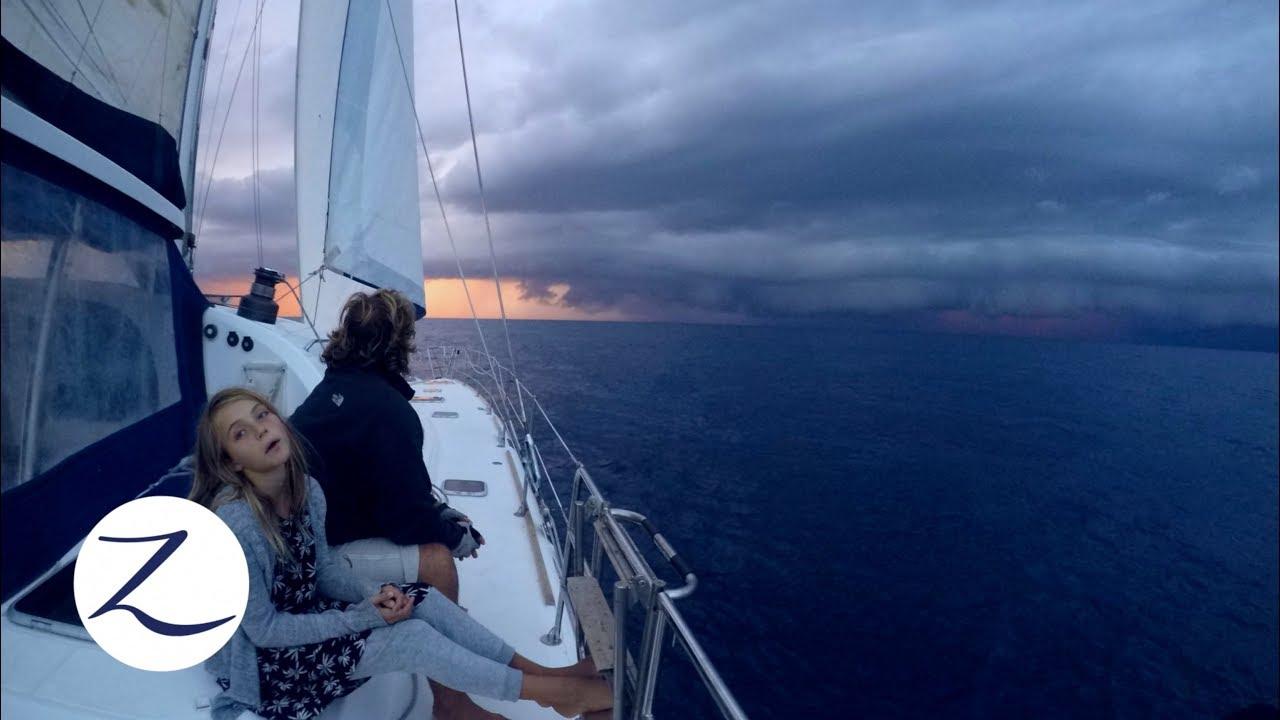 the-perfect-storm-bad-weather-sailing-daily-life-on-a-catamaran-zatara-ep-61