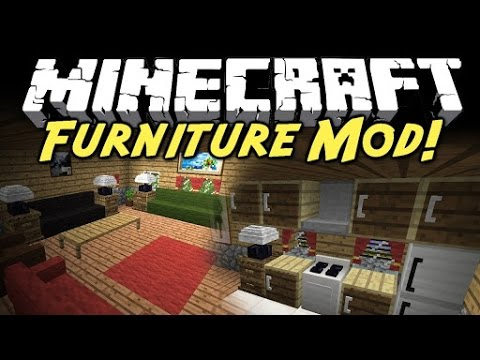 Furniture Mod Para Minecraft Pe Youtube