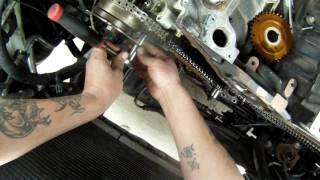 Ford 5.4l Triton timing chain removal
