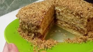 Торт Медовик ❇ Классический ❇ Семейный рецепт ❇ Honey cake ❇