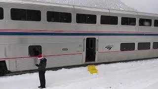 Amtrak California Zephyr Adventure - Emeryville CA to Denver CO 23-24 Dec 2018